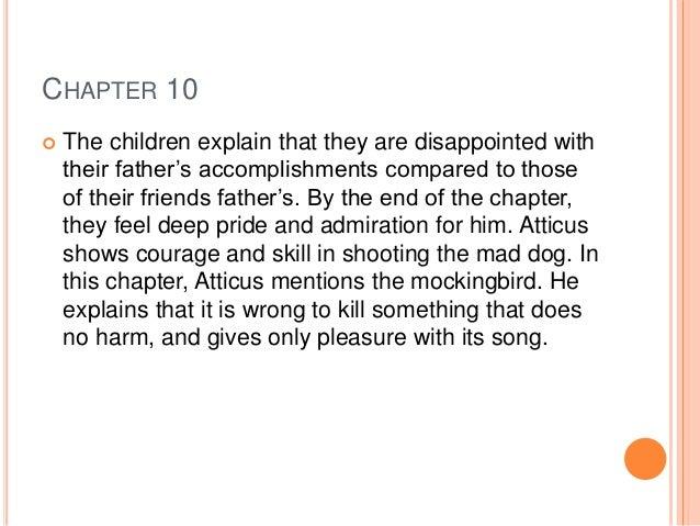 chapter 10 to kill a mockingbird