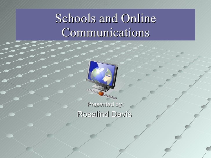 Schools and Online Communication