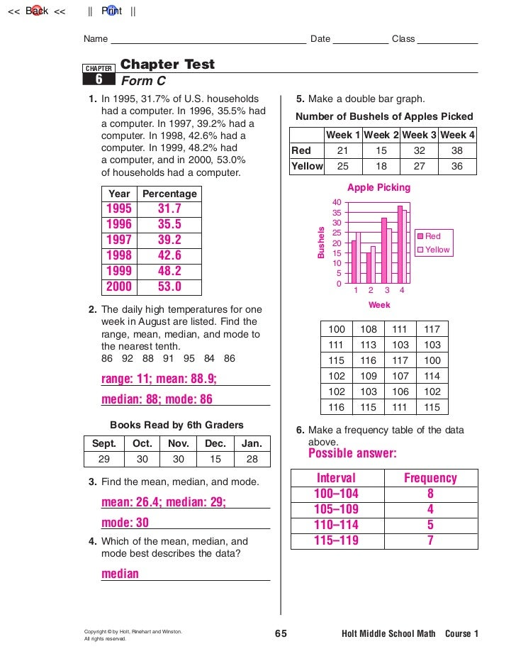 Chapter 2 Review Test Go Math Answers Grade 3