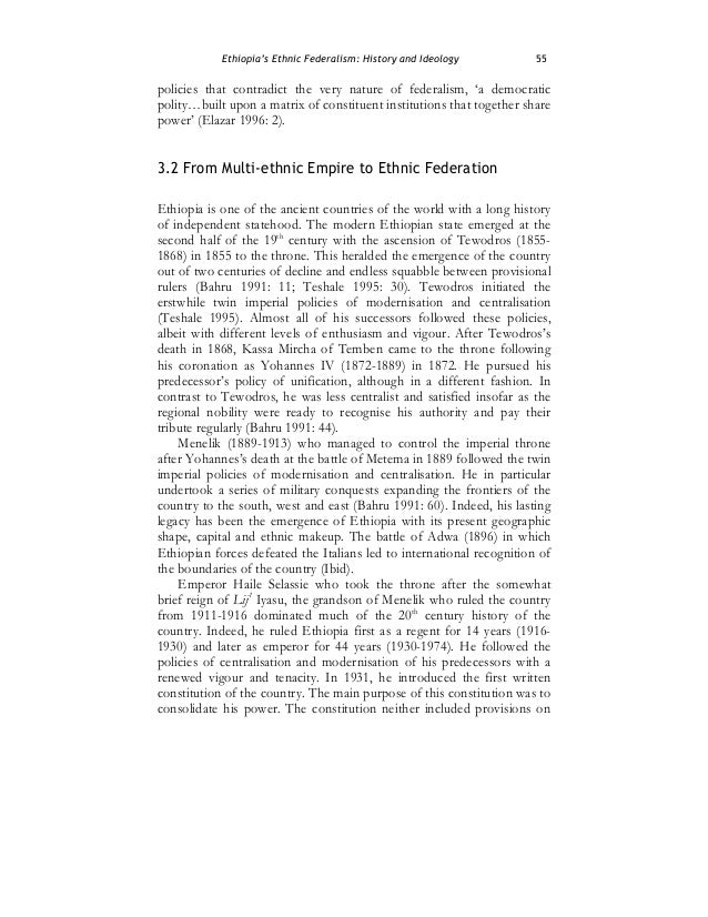 history of urbanization in ethiopia Cp2002-ethiopia table of contents chapter 2: international cooperation to accelerate sustainable development in developing countries and related domestic policies.