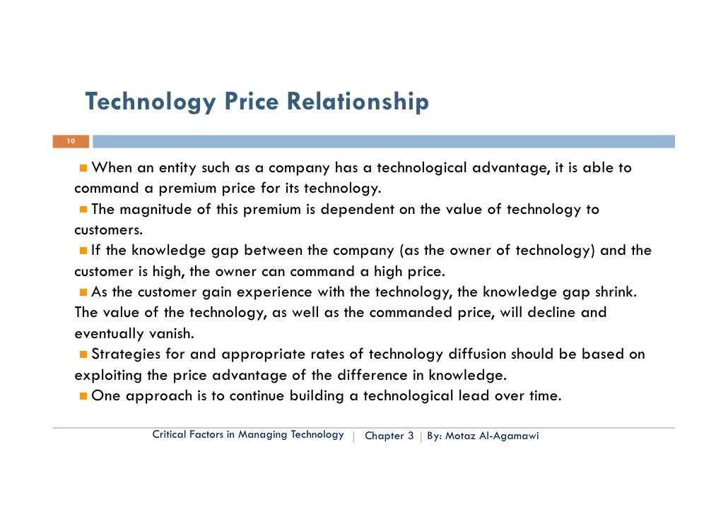 Essential of Technology Entrep. & Innovation- Chapter ...