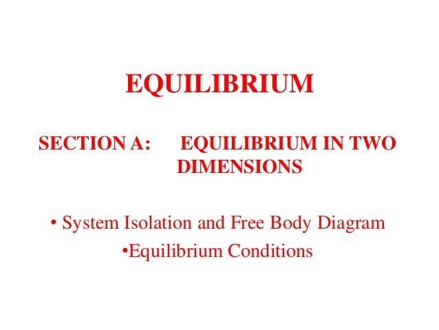 Engineering statics equilibrium equilibrium section a equilibrium in two dimensions system isolation and free body diagram ccuart Gallery