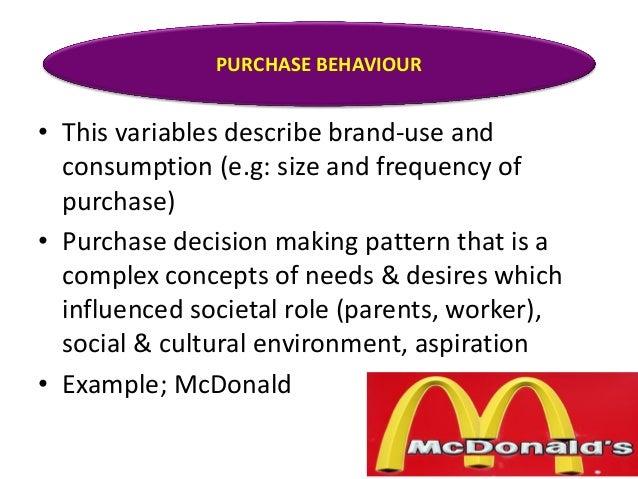 behaviour segmentation of subway Chapter 5 market segmenting, targeting, and positioning  benefits segmentation—segmenting buyers by the benefits they want.