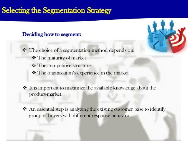 1 what are the important segmentation variables for the water market in the uk Market segmentation is a method used by marketers to  why market segments are important to  segmentation variables in marketing: definition & examples .