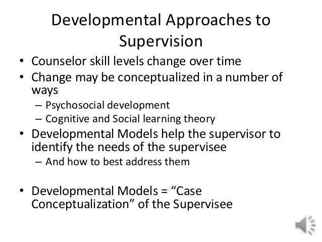 discrimination model of supervision Discrimination model of supervision supervisory role as counselor • explore  supervisee's feeling during counseling session or supervision session • explore .