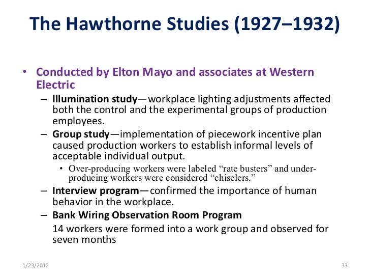 effects of the hawthorne studies essay That is why hawthorne effect also called the 'somebody upstairs cares elton mayo's hawthorne studies 72 of 10 on the basis of 2474 essay types search prices.