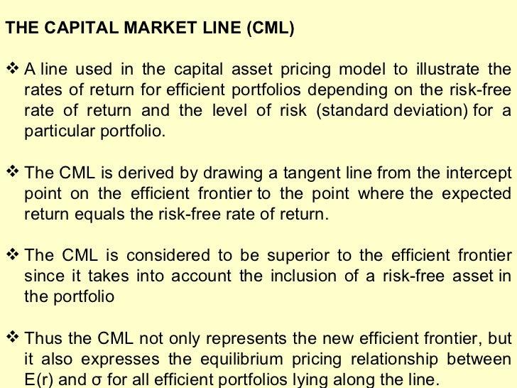 Ppt portfolio theory capital market theory capital asset pricing.