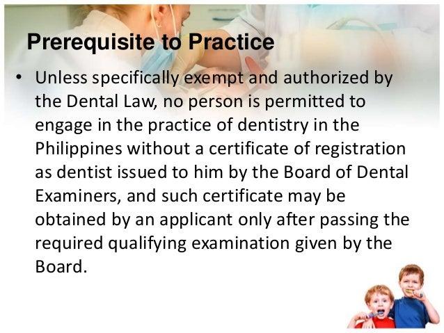 The Dental Profession