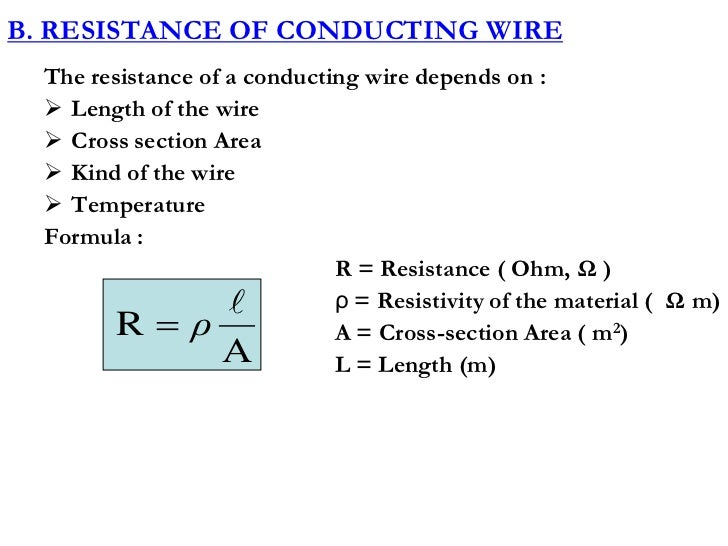 Cross sectional area of a wire equation wire center chapter vii direct current circuits new rh slideshare net wire gauge chart printable american wire gauge ampacity greentooth Choice Image