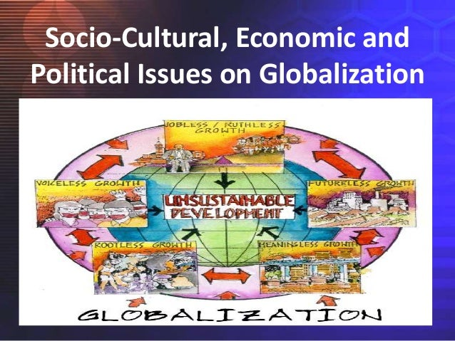 economic and cultural globalisation The term globalization encompasses a range of social, political, and economic changes within the section defining globalization , we provide an introduction to the key debates the materials ask what is new, what drives the process, how it changes politics, and how it affects global institutions like the un.