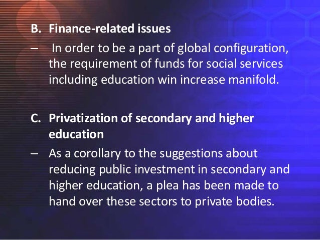 education and globalization Globalisation, societies and education  (towards) decoloniality and diversality in global citizenship education andreotti volume 9, 2011 - issue 3-4.