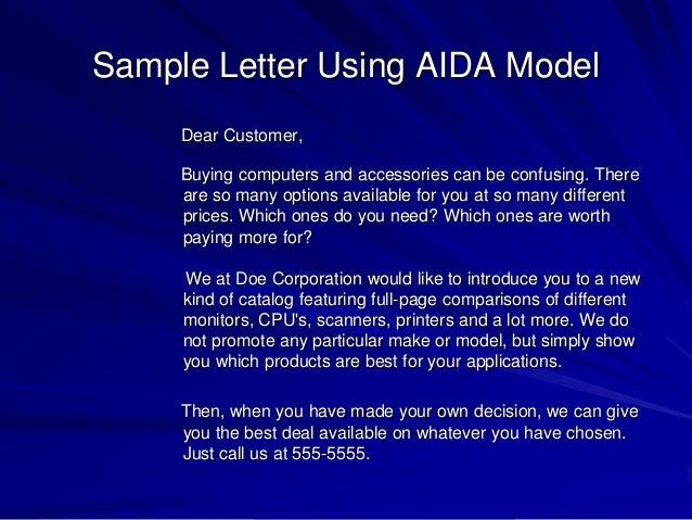 Chapter 6 message design sample letter spiritdancerdesigns Choice Image