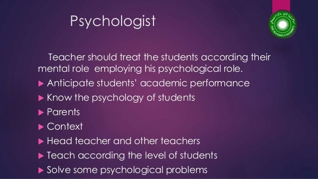 Characteristics of Good Teacher