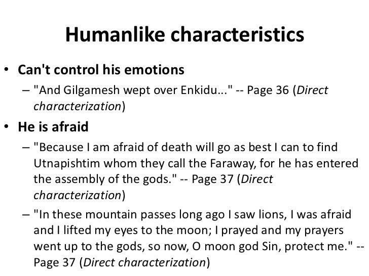urshanabi epic of gilgamesh