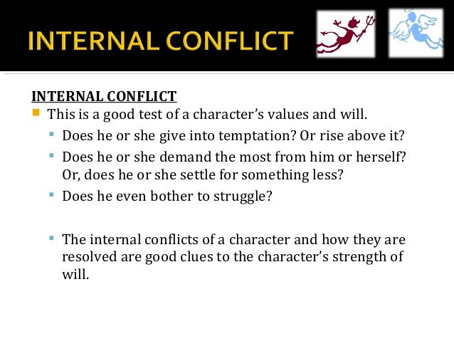 Character and Conflict