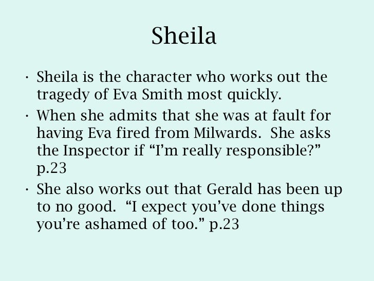 sheila birling character profile Eva smith character profiledocx  how does priestley present sheila in an inspector callsdocx  mr arthur birling character profiledocx.