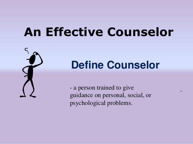 characteristics of a guidance counselor Nyu steinhardt's online master of arts in counseling and guidance program   on bilingual and multicultural theory and on identifying the characteristics of.