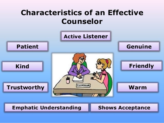 What Are The Characteristics Of An Effective Counselor?