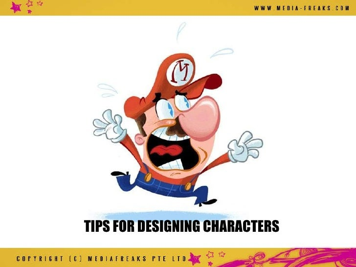 Cartoon Character Design Tips : Great character design tips for creating and monetizing