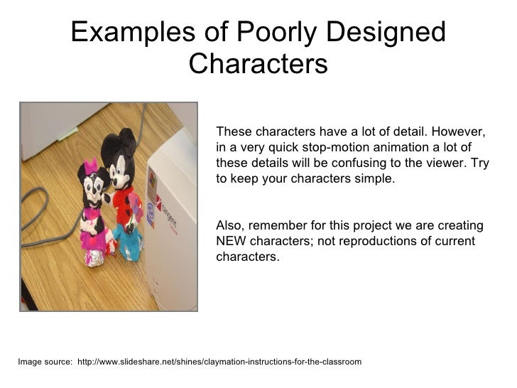 Good Character Design Apps : Claymation character design