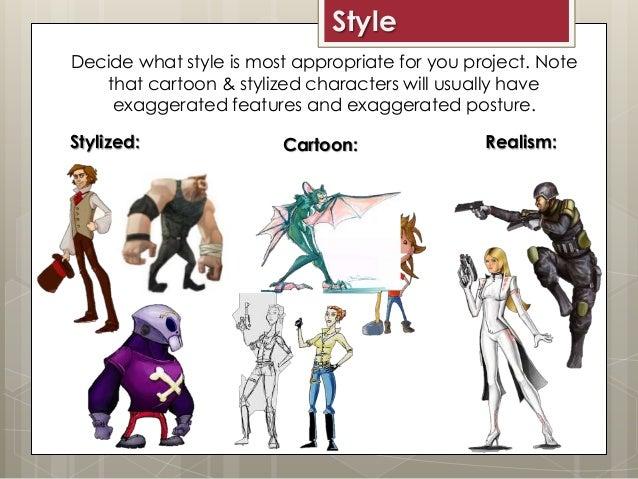 Concept Character Design Tips : Concept art character design