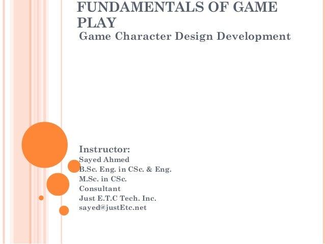 Vtc Game Design Character Development : Character design