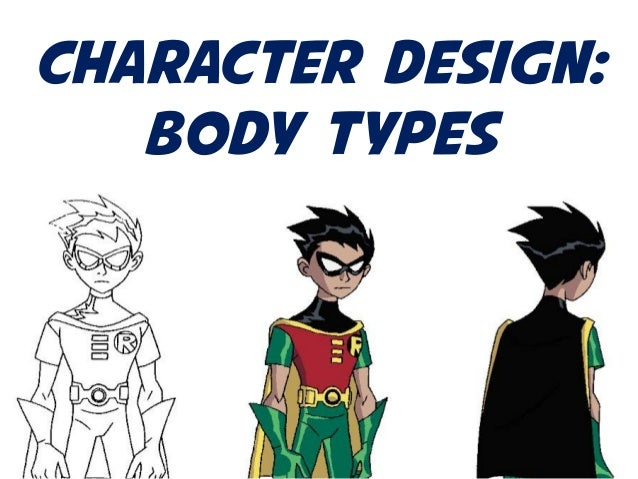 Character Design: Body Types
