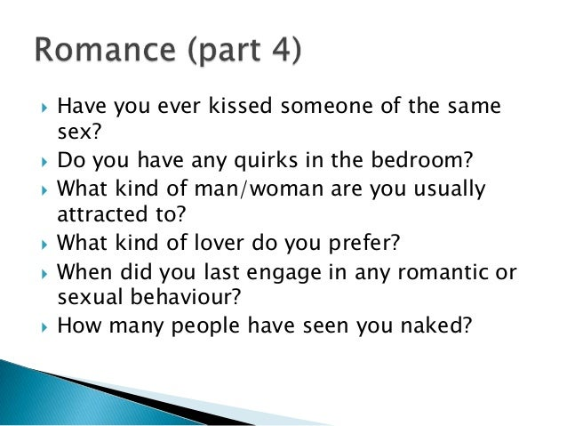 How sex are you quiz