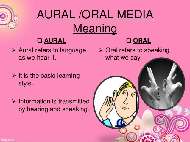Image result for aural