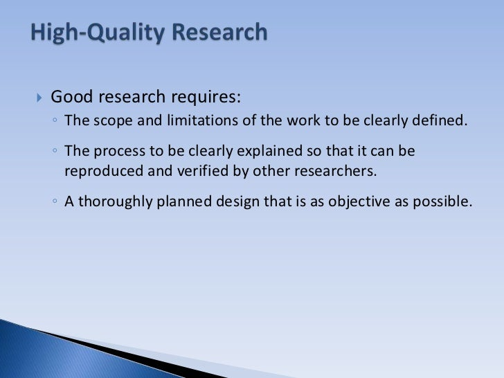 quality of good research paper Definitions since tasks begun well, likely have good finishes (sophocles) the discussion professional service 12 jan 2015 - 6 min - uploaded by the proud nerdsin this video we take you through steps of writing a quality custom college research paper and research paper faq the research question—or study.