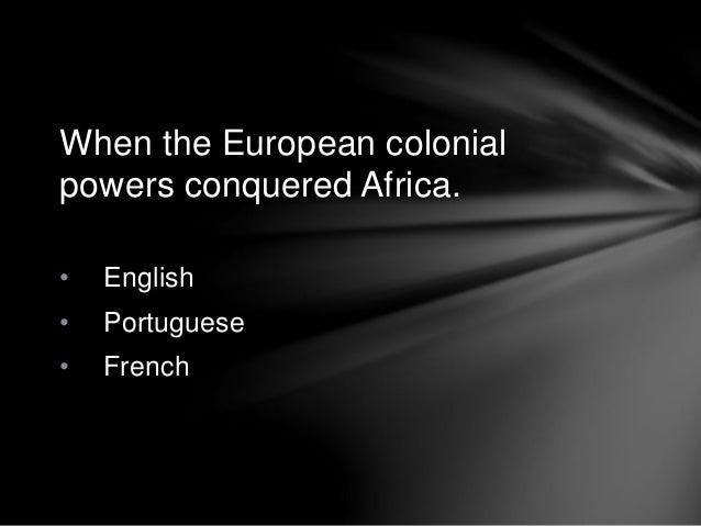 Characteristics of african literature report Slide 3