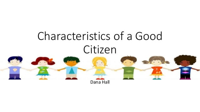 Essay on being a good citizen