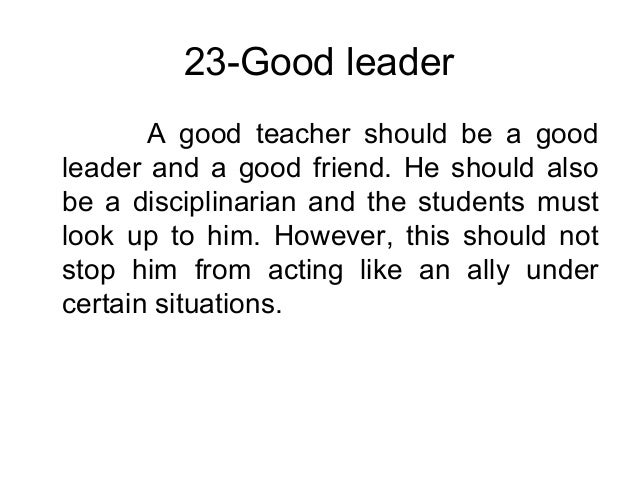 the important qualities of a good Top 7 characteristics and qualities of a good teacher updated on very well organized and all the important qualities of a good teacher wonderfully assembled.