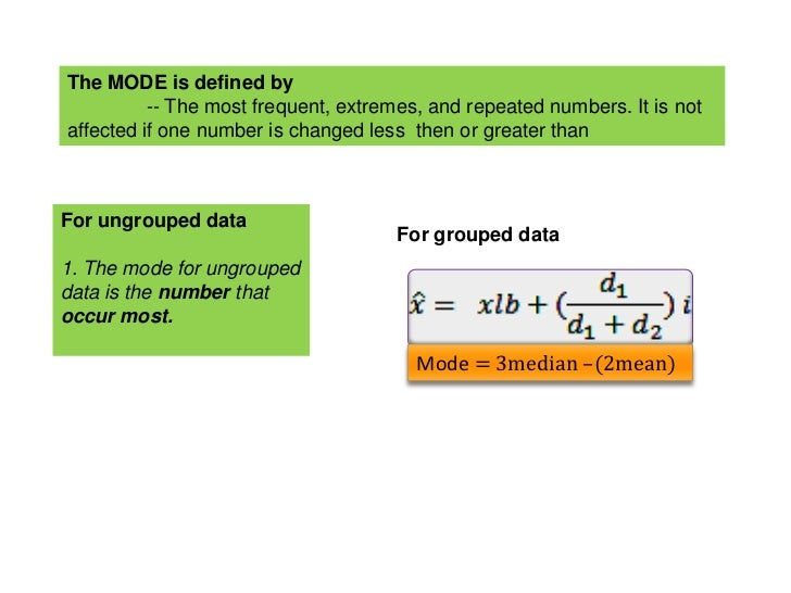 what are the characteristics of a good measure of central tendency Statistical language - measures of shape menu understanding statistics draft statistical capability the mean, median and mode are all equal, and therefore are all appropriate measure of centre central tendency if data are skewed, the median may be a more appropriate measure of central.