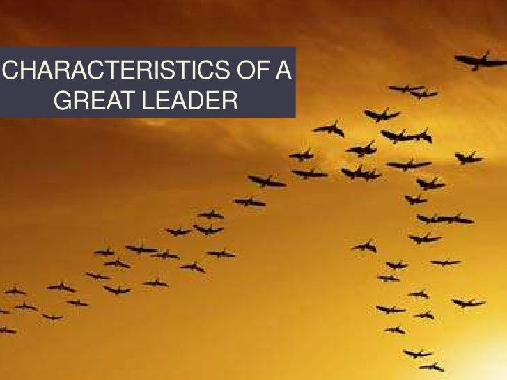 Characteristics of a great leader<br />PeopleProcessandProfit.com<br />© 2010 Barry Goldberg<br />