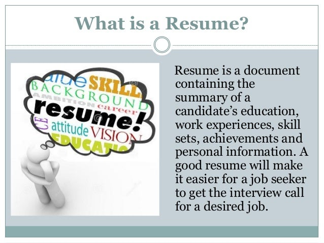 characteristics of a great resume website