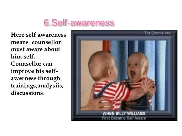 self awareness in counselling