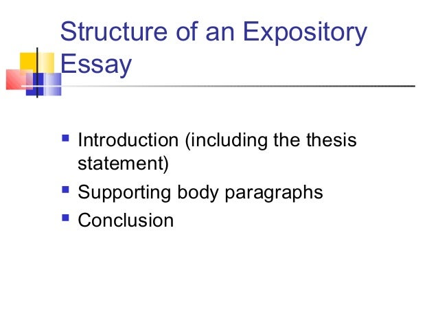 Characteristics of Expository - blogger.com