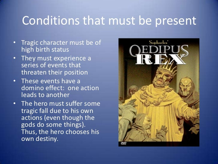 characteristics of a tragic hero in literature