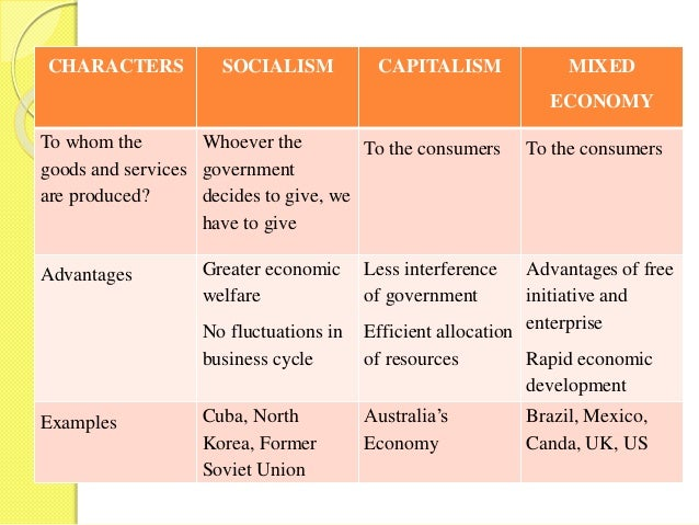what are the characteristics of socialism