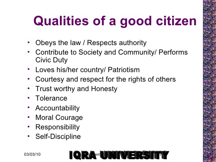 10 Qualities of A Good Citizen And Ways To Be Good Citizen