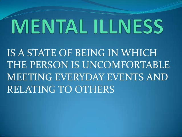 what is characteristics of good mental health
