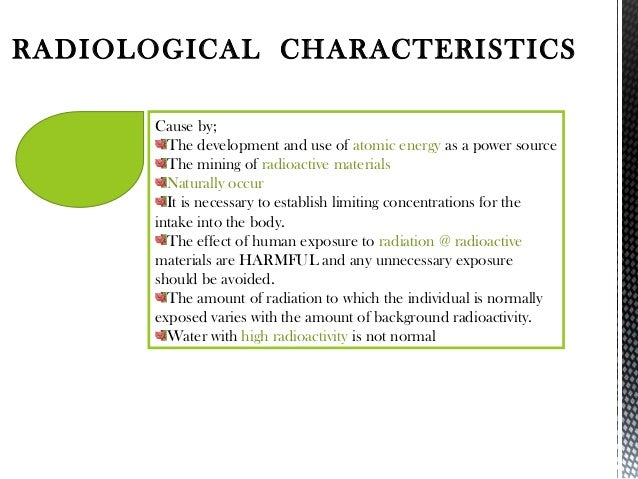 The effects of background characteristis and