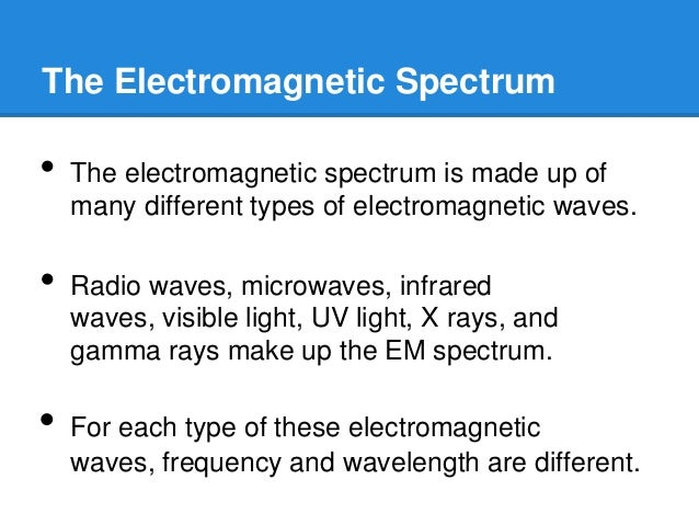Infrared Waves Examples Characteristics of lig...