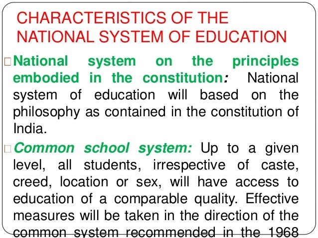 the characteristics of an ideal system of education Depending on the cultural traditions of each education system, we shall have,   by an open election system which has the same qualities of transparency as in  any  citizenship education is the ideal forum, since discussion on social issues .