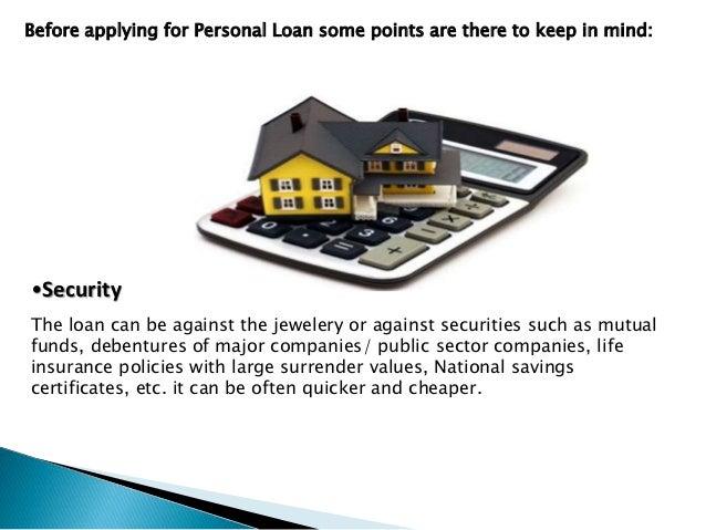 Characteristics of personal loan and loan emi calculator. - 웹