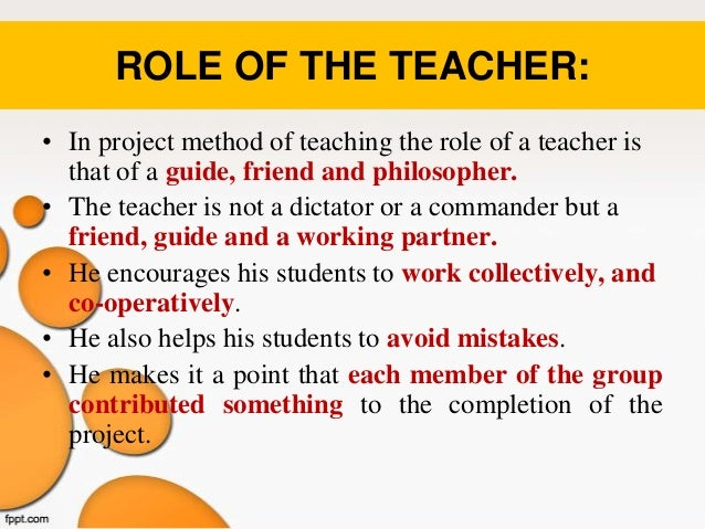 Modern Classroom Teaching Methods ~ Project method of teaching