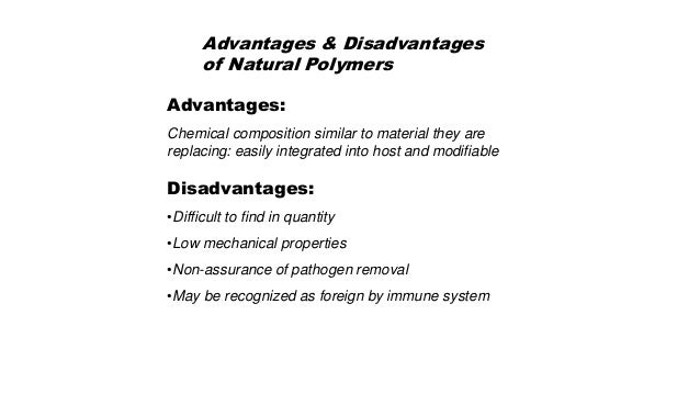 Characteristics Of The Biomaterials For Tissue Engineering