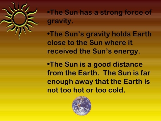 Characteristics Sun