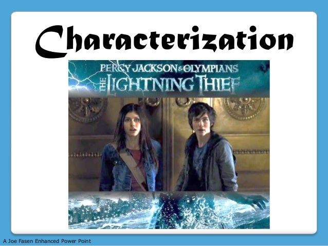 Characterization  A Joe Fasen Enhanced Power Point